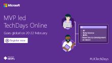 MVP Tech Days Online